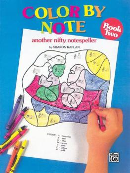 Color by Note, Book 2: Another Nifty Notespeller (AL-00-EL03399)