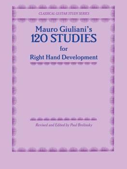 120 Studies for Right Hand Development (AL-00-F1887GCX)