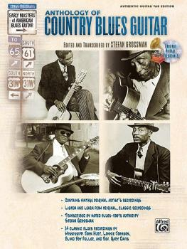 Stefan Grossman's Early Masters of American Blues Guitar: The Antholog (AL-00-F3174GTA)