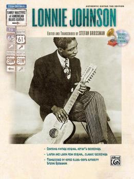 Stefan Grossman's Early Masters of American Blues Guitar: Lonnie Johns (AL-00-F3346GTA)
