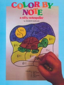 Color by Note, Book 1 (A Nifty Notespeller) (AL-00-EL03286)