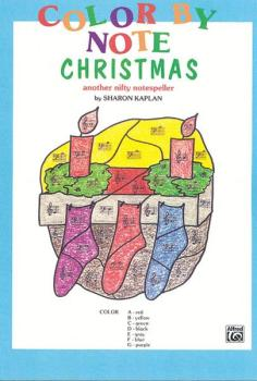 Color by Note Christmas: Another Nifty Notespeller (AL-00-EL03783)