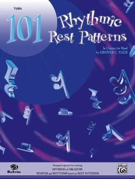 101 Rhythmic Rest Patterns (In Unison for Band) (AL-00-EL00559)