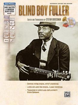 Stefan Grossman's Early Masters of American Blues Guitar: Blind Boy Fu (AL-00-F3270GTA)