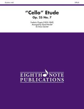 """Cello"" Etude, Opus 25, No. 7 (AL-81-BQ10345)"