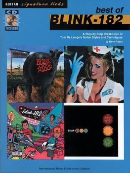 Blink 182: Best of Signature Licks (AL-55-9811A)