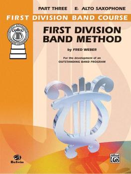 First Division Band Method, Part 3 (For the Development of an Outstand (AL-00-FDL00173A)