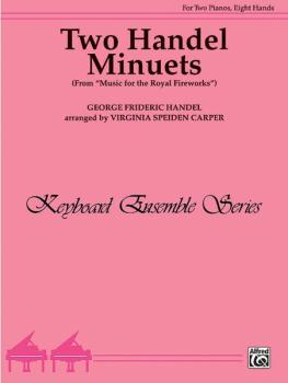 Two Handel Minuets (From <I>Music for the Royal Fireworks</I>) (AL-00-PA02416)