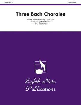 Three Bach Chorales (AL-81-TT203)