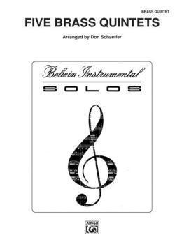 Five Brass Quintets (AL-00-PROBK01260)