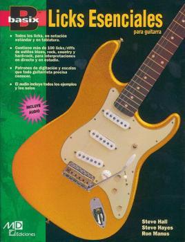 Basix®: Essential Licks for Guitar (Spanish Edition) (AL-00-18457)