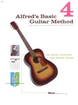 Alfred's Basic Guitar Method 4: The Most Popular Method for Learning H (AL-00-310)