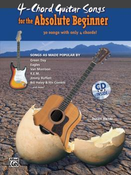 4-Chord Songs for the Absolute Beginner (AL-00-30265)