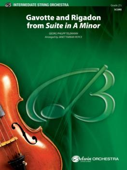 """""""Gavotte"""" and """"Rigadon"""" from <i>Suite in A Minor</i> (AL-00-40423S)"""
