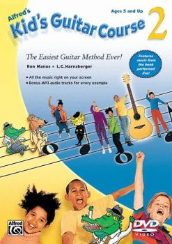 Alfred's Kid's Guitar Course 2: The Easiest Guitar Method Ever! (AL-00-31994)