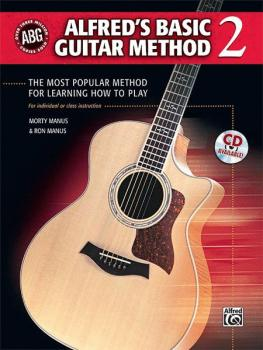 Alfred's Basic Guitar Method 2: The Most Popular Method for Learning H (AL-00-33306)