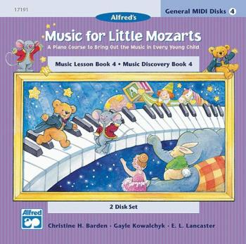 Music for Little Mozarts: GM 2-Disk Sets for Lesson and Discovery Book (AL-00-17191)
