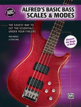 Alfred's Basic Bass Scales & Modes: The Easiest Way to Get the Essenti (AL-00-31397)