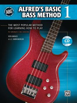 Alfred's Basic Bass Method 1: The Most Popular Method for Learning How (AL-00-28369)