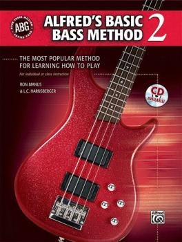 Alfred's Basic Bass Method 2: The Most Popular Method for Learning How (AL-00-30549)