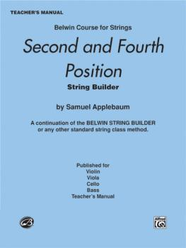 2nd and 4th Position String Builder: A Continuation of the Belwin Stri (AL-00-EL01941)