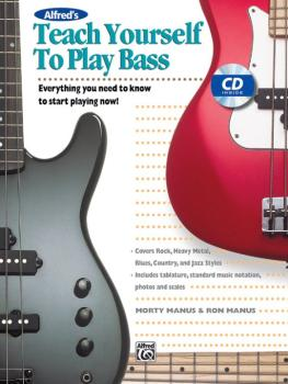 Alfred's Teach Yourself to Play Bass: Everything You Need to Know to S (AL-00-14876)