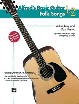 Alfred's Basic Guitar Folk Songs 1 & 2 (AL-00-14878)