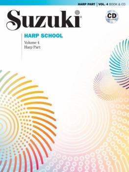 Suzuki Harp School Harp Part & CD, Volume 4: International Edition (AL-00-40826)