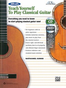 Alfred's Teach Yourself to Play Classical Guitar: Everything You Need  (AL-00-42697)