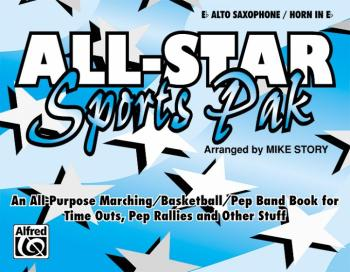 All-Star Sports Pak: An All-Purpose Marching/Basketball/Pep Band Book  (AL-00-MBF9505)