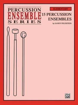 15 Percussion Ensembles (For 4 Players) (AL-00-PERC9606)