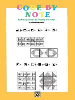 Code by Note, Book 1: Find the Patterns by Reading the Notes (AL-00-EL03915)