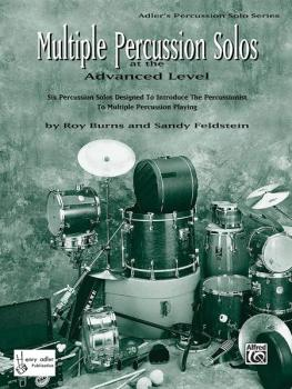 Multiple Percussion Solos: Six Percussion Solos Designed to Introduce  (AL-00-HAB00096)