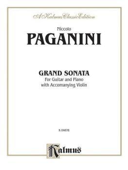 Grand Sonata (For Guitar and Piano with Accompanying Violin) (AL-00-K04678)