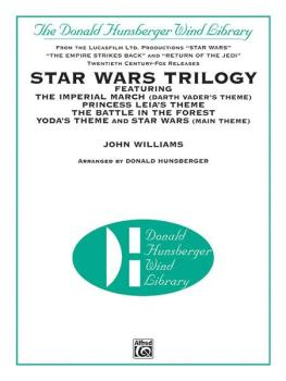 <I>Star Wars</I>® Trilogy (Featuring: The Imperial March / Princess Le (AL-00-DH9704)