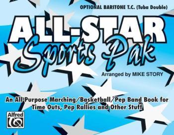 All-Star Sports Pak: An All-Purpose Marching/Basketball/Pep Band Book  (AL-00-MBF9515)