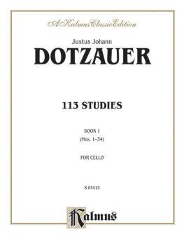 113 Studies, Volume I (Nos. 1--34) (AL-00-K04413)