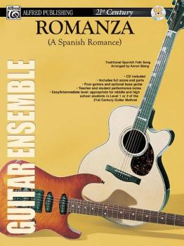 Belwin's 21st Century Guitar Ensemble Series: Romanza (A Spanish Roman (AL-00-ELM02013)