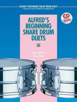 Alfred's Beginning Snare Drum Duets: 15 Duets That Correlate with Alfr (AL-00-16930)