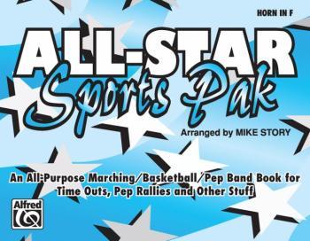 All-Star Sports Pak: An All-Purpose Marching/Basketball/Pep Band Book  (AL-00-MBF9510)