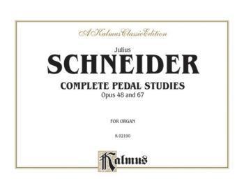 Complete Pedal Studies, Opus 48 and 67 (AL-00-K02190)