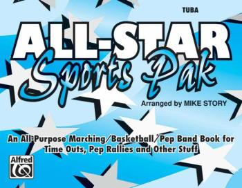 All-Star Sports Pak: An All-Purpose Marching/Basketball/Pep Band Book  (AL-00-MBF9516)