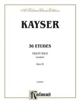 36 Etudes, Opus 20 (Complete) (AL-00-K03575)