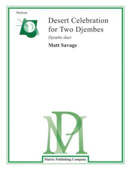 Desert Celebration for Two Djembes (AL-00-WP1)
