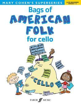 Bags of American Folk for Cello (AL-12-057153418X)