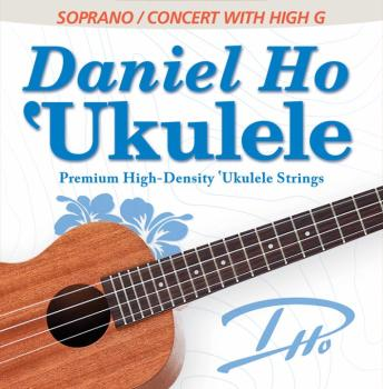 Daniel Ho 'Ukulele Premium High-Density Ukulele Strings: Soprano / Con (AL-98-DHC80112)
