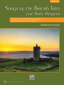 Songs of the British Isles for Solo Singers: 11 Songs Arranged for Sol (AL-00-39749)