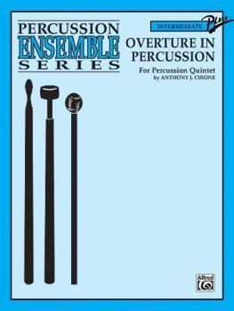 Overture in Percussion (For Percussion Quintet) (AL-00-ENS00233)