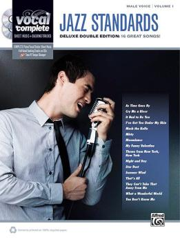 Vocal Complete: Male Voice Jazz Standards: Piano/Vocal Sheet Music wit (AL-00-37295)