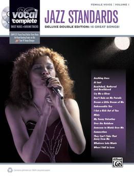 Vocal Complete: Female Voice Jazz Standards: Piano/Vocal Sheet Music w (AL-00-37291)